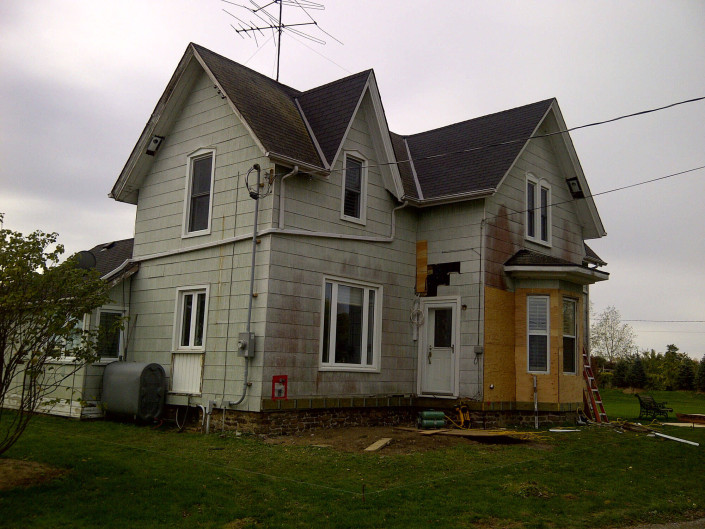 Exterior Renovation - Before Pic 1