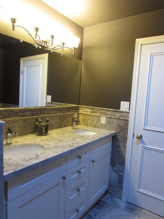 Bathroom Renovation Two - Double Sink