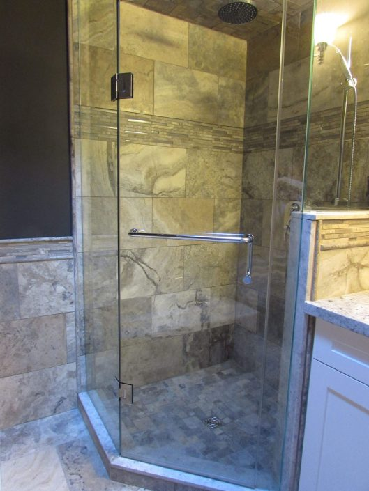 Bathroom Renovation Two - Walk In Shower